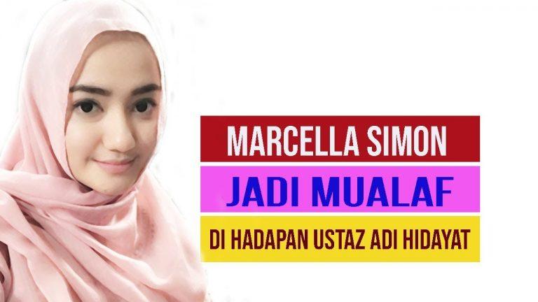 Apa Fakta-Fakta Marcella Simon, Aktris yang Baru Jadi Mualaf?
