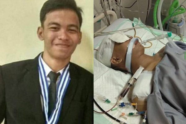 Akbar Alamsyah pejuang demokrasi, mati di Rumah Sakit Polri.
